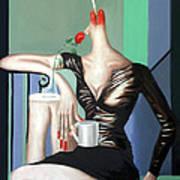Coffee Break Print by Anthony Falbo