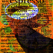 Coffee Lover 5d24472p8 Print by Wingsdomain Art and Photography