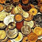 Coinage Print by Benjamin Yeager