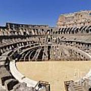 Coliseum . Rome Print by Bernard Jaubert