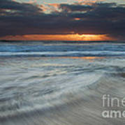 Colliding Tides Print by Mike  Dawson