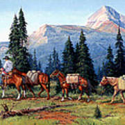 Colorado Outfitter Print by Randy Follis
