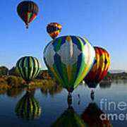 Colorful Landings Print by Mike  Dawson