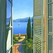 Como View Print by Michael Swanson