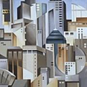 Composition Looking East Print by Catherine Abel