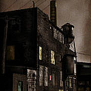 Condemned Print by Colleen Kammerer