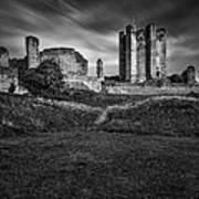 Conisbrough Castle Doncaster Print by Ian Barber