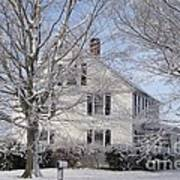 Connecticut Winter Print by Michelle Welles