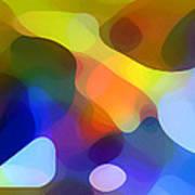 Cool Dappled Light Print by Amy Vangsgard