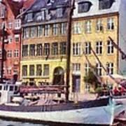 Copenhagen Print by Jeff Kolker