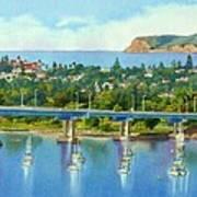 Coronado Island California Print by Mary Helmreich
