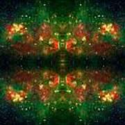 Cosmic Kaleidoscope 3 Print by The  Vault - Jennifer Rondinelli Reilly
