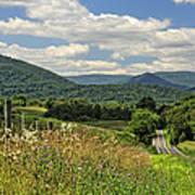 Country Roads Take Me Home Print by Lara Ellis