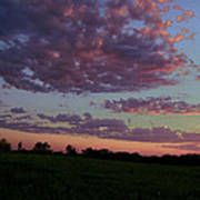 Country Sky Print by Jame Hayes