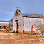 Cowboy Church Print by Tap  On Photo