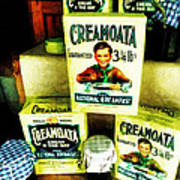 Creamoata - Cream  O' The Oat Print by Steve Taylor