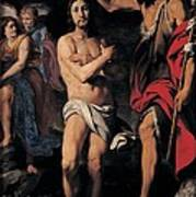 Crespi Daniele, The Baptism Of Christ Print by Everett