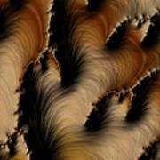 Crevasses  Print by Heidi Smith