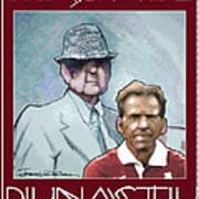 Crimson Dynasty Print by Jerrett Dornbusch