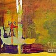 Crossing Over Print by Pat Saunders-White