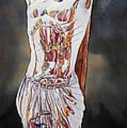Crucifijo En Plata Print by Patrick DuMouchel