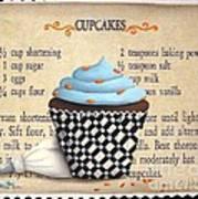 Cupcake Masterpiece Print by Catherine Holman