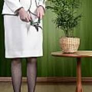 Cutting Plant Print by Joana Kruse