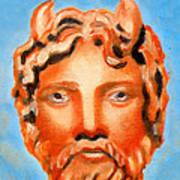 Cyprus - Zeus Print by Augusta Stylianou