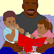 Daddy's Bundles Print by Pharris Art