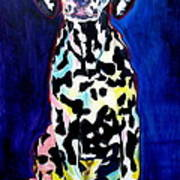 Dalmatian - Polka Dots Print by Alicia VanNoy Call