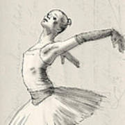 Dance Print by H James Hoff