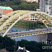 Daniel Carter Beard Bridge Cincinnati Ohio Print by Paul Velgos