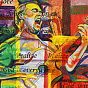 Dave Matthews-bartender Print by Joshua Morton