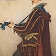 David Rizzio Print by Sir James Dromgole Linton