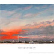 Dawn 20 January 2009 Print by William Van Doren