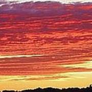 Days End Print by Bruce Bley