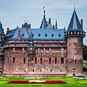 De Haar Castle. Utrecht. Netherlands Print by Jenny Rainbow