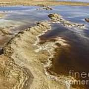 Dead Sea Landscape Print by Dan Yeger