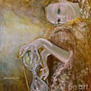 Deja Vu Print by Dorina  Costras