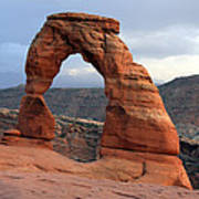 Delicate Arch - Arches National Park - Utah Print by Aidan Moran