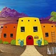Desert Oasis Print by Carol Sabo