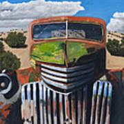 Desert Varnish Print by Jack Atkins