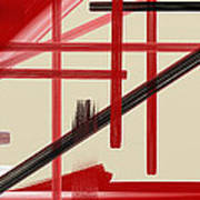 Different Dimensions 9 Print by Arie Van der Wijst