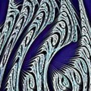 Digital Carvings Print by Anastasiya Malakhova