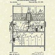 Display Apparatus 1890 Patent Art Print by Prior Art Design