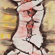 Divine Love Series No. 1412 Print by Ilisa  Millermoon