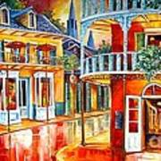 Divine New Orleans Print by Diane Millsap