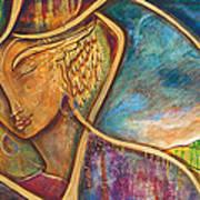 Divine Wisdom Print by Shiloh Sophia McCloud
