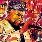 Dizzy Gillespie Print by Everett Spruill