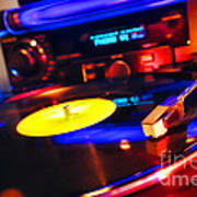 Dj 's Delight Print by Olivier Le Queinec